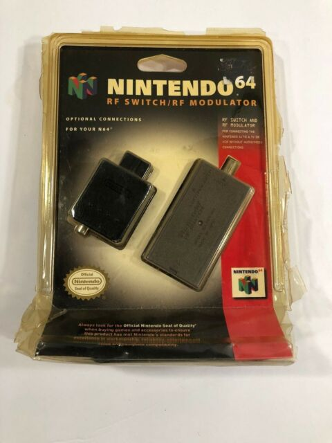 RF Switch RF Modulator Nintendo 64 GameCube Brand New Factory Sealed N64