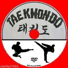 TAEKWONDO COMPREHENSIVE MARTIAL ARTS GUIDE NEW DVD LEARN KICKS DEFENCE ATTACK ++
