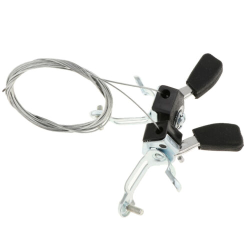 6//7 Speed Friction Thumb Shifter Set with Cable Housing for MTB Road Bike