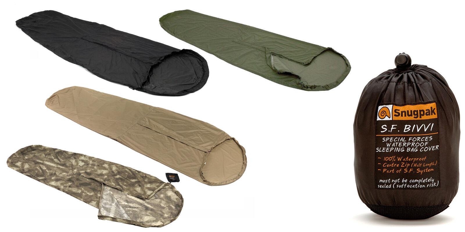 UK Made Snugpak Special Forces Bivvi  Bag Essential for Hillwalking & Mountaineer  world famous sale online