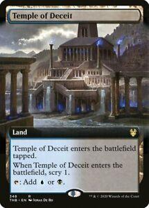 Temple de la tromperie PREMIUM / FOIL VO - English Extras of Deceit - Mtg Magic