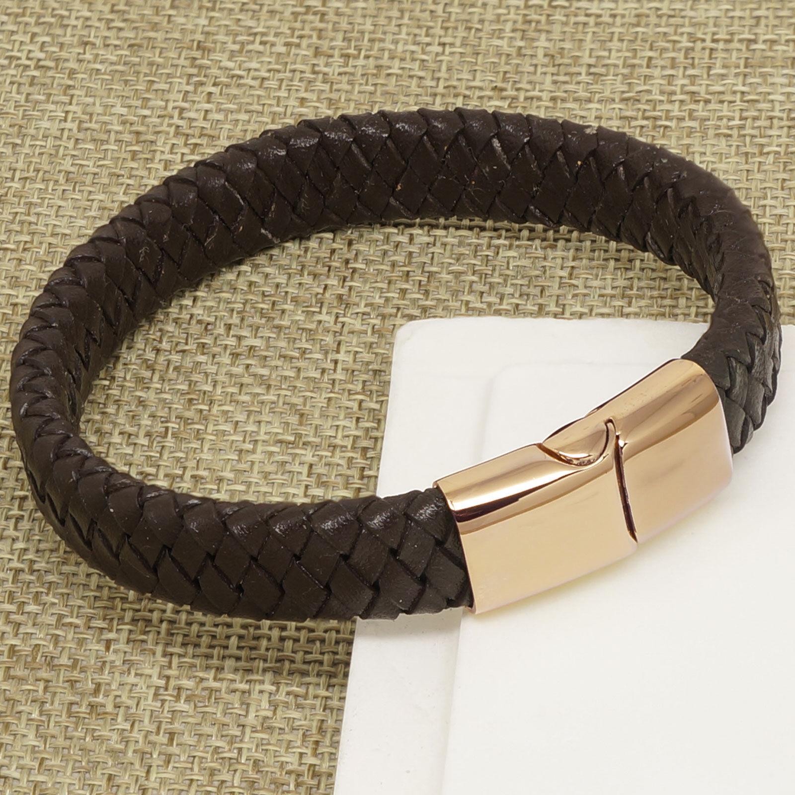 1 Unisex Lederband Armband Wickelarmband Braun Armkette Modeschmuck 98.5cm