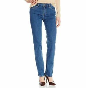 0f4130ea LEE Women's Instantly Slims Classic Relaxed Fit Monroe Straight Leg ...