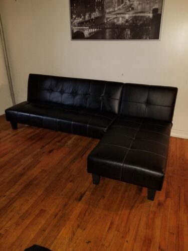 Enjoyable Schwarze Couch Schwarze Sectional Sectional Leder Leder Unemploymentrelief Wooden Chair Designs For Living Room Unemploymentrelieforg
