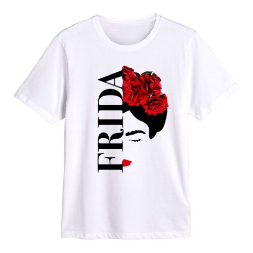 Frida Kahlo Official Boys T Shirt Silhouette