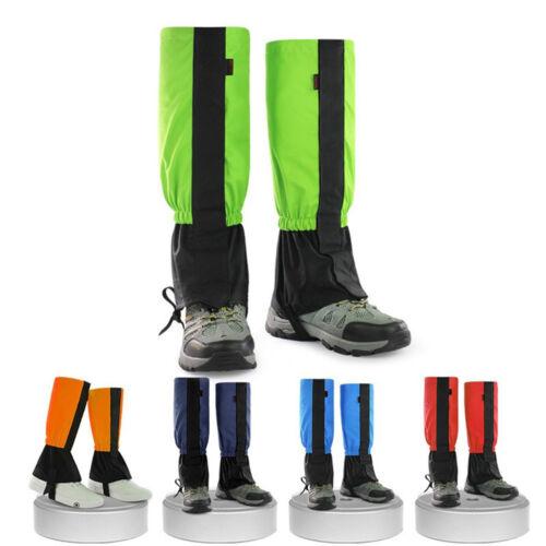 la neige guêtres jambe couvrir cyclisme jambières les couvre chaussures