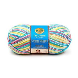 Lion Brand Ice Cream Big Scoop Yarn-banana Split