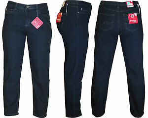 Stooker-Dubai-Damen-Stretch-Jeans-Hose-Dark-Blue-Denim