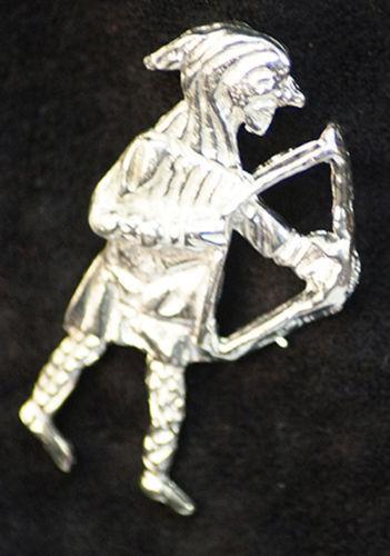 LARP-SCA-Re-enactment-Medieval ARCHER BADGES Pin Clasp