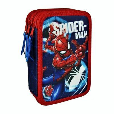 * Nuovo * Spiderman 3 Piani Triplo Astuccio Originale Marvel Produzione-mostra Il Titolo Originale