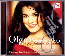 Olga PERETYATKO Signed La Bellezza Del Canto CD Donizetti Massenet Rossini Verdi