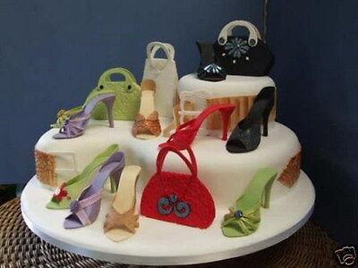 Super Fabulous High Heel Shoe Kit For Cake Decorating By Stephen Benison Birthday Cards Printable Inklcafe Filternl