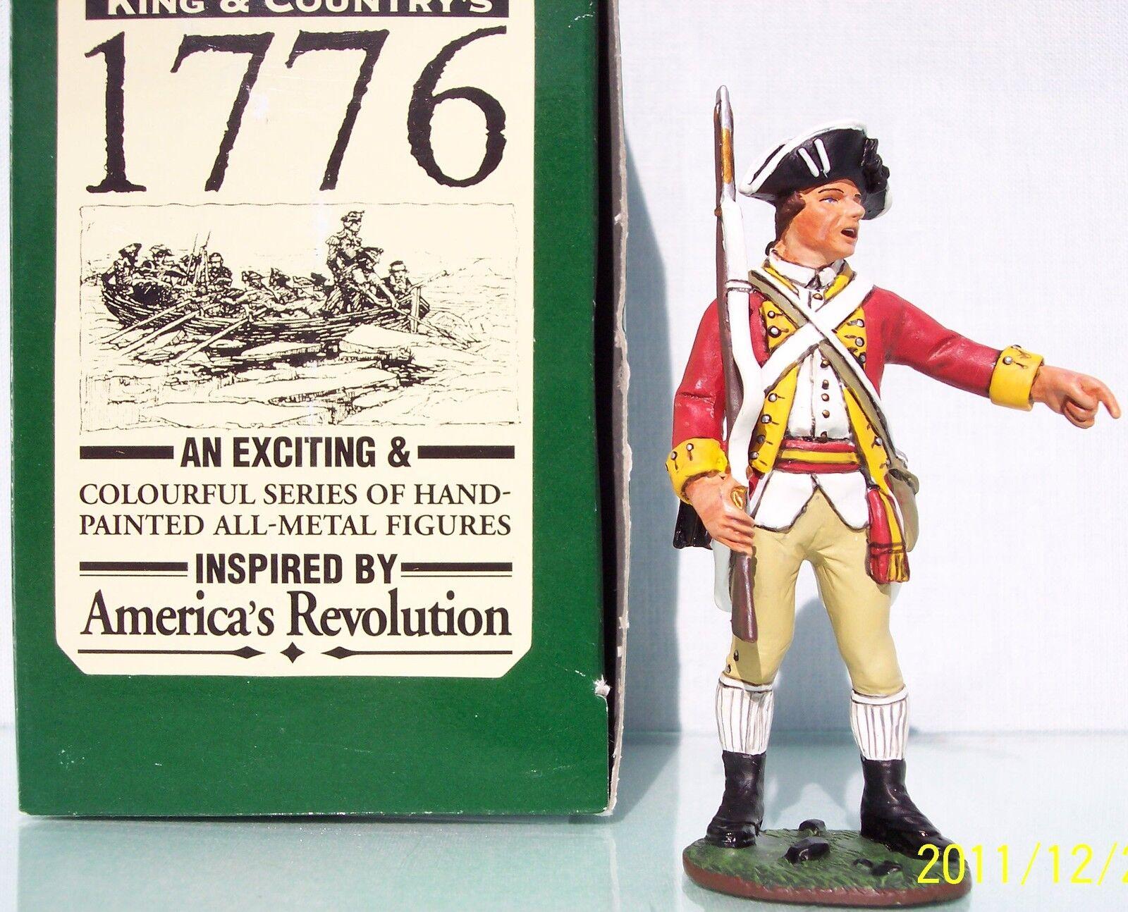 KING & COUNTRY BRITISH REVOLUTIONARY REVOLUTIONARY REVOLUTIONARY BR018 SERGEANT POINTING MIB 23fb93