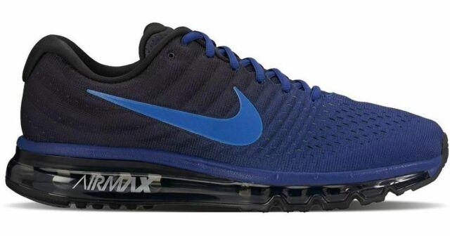 e36017df1a Nike Air Max 2017 Men Running Deep Royal Blue/Hyper-Cobalt Mult Sizes 849559