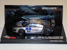 1/43 Minichamps Audi R8 LMS car #100 24 Hours ADAC Nurburgring 2009 Limited 999