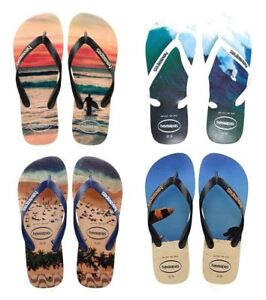d7e5a0b74f79 Havaianas Men Hype Photo Print Rubber Flip Flops All Sizes Colors