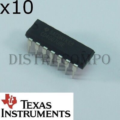 10x CD4066 CD4066BE DIP-14  Texas Instruments