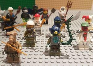 Lego-Mini-Figures-10-Mixte-Caractere-Veritable-Minifigures-avec-accessoires-incl