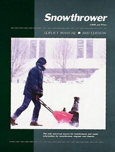 craftsman snow thrower repair manual