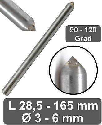 Hartmetall Schaftfräser Einzelne Flöte 6mm Schaft CNC Fräser Bits Langlebig