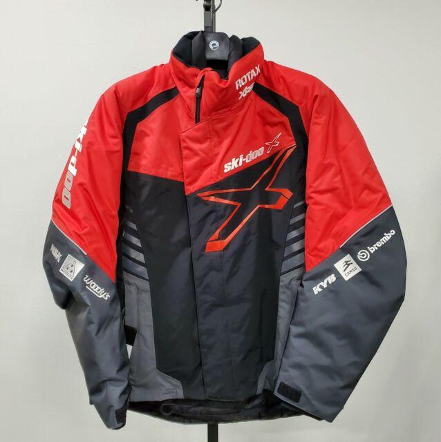 2018 Ski-Doo Men/'s X-Team Jacket Red