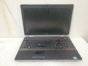 Dell Latitude E6520 Intel Core i5-2430M 2.4Ghz 10240MB Laptop No HDD Ext Battery