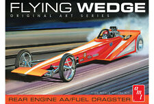 AMT 1970's Flying Wedge Rear Engine T/F Dragster Model Kit 1/25