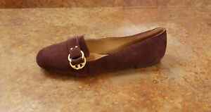 c0080b01b6e New! Tory Burch  Marsden  Smoking Slipper Loafers Purple Suede 11 M ...