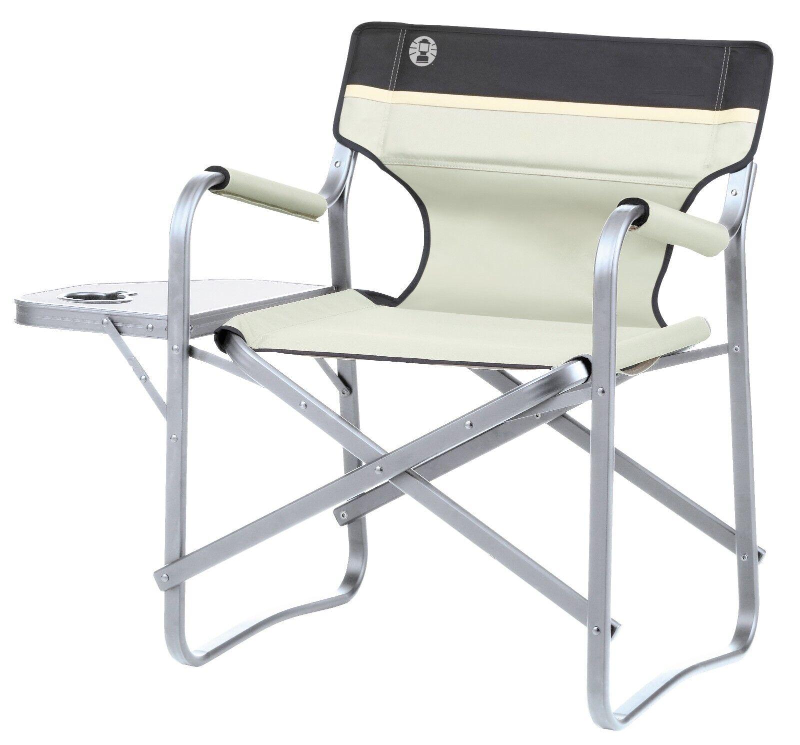 Coleman Campingstuhl 'Deck Chair' - khaki mit Tisch