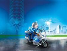 PLAYMOBIL® 6876 - MOTORRADSTREIFE MIT LED-BLINKLICHT, NEU/OVP