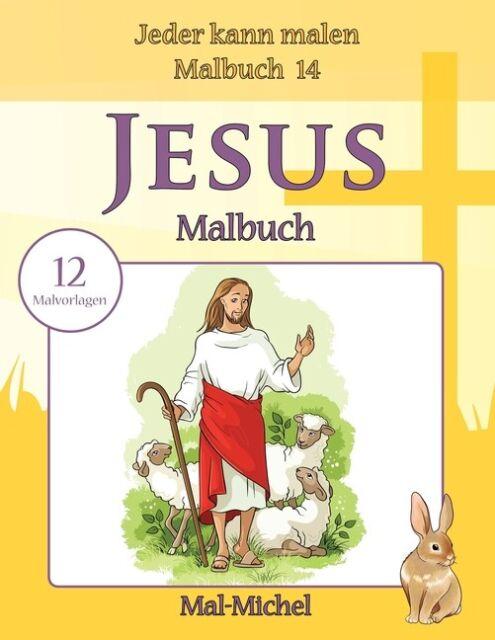 jesus malbuch 12 malvorlagen  ebay
