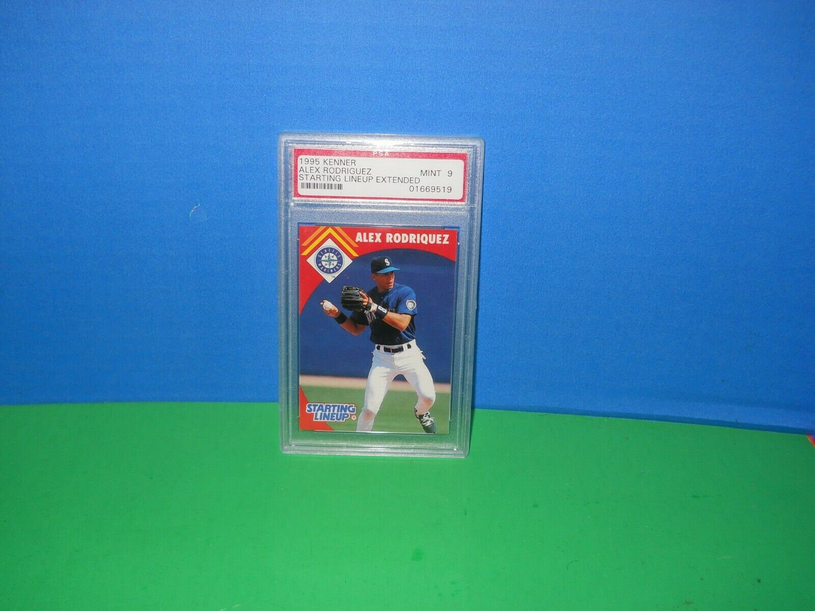 1995  ALEX RODRIGUEZ Seattle Mariners  CARD ONLY rare mint 9 grade