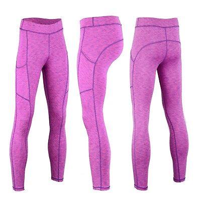 Schlussverkauf Women Yoga Pants Ladies Fitness Leggings Run Gym Exercise Sports Trouser 10-18