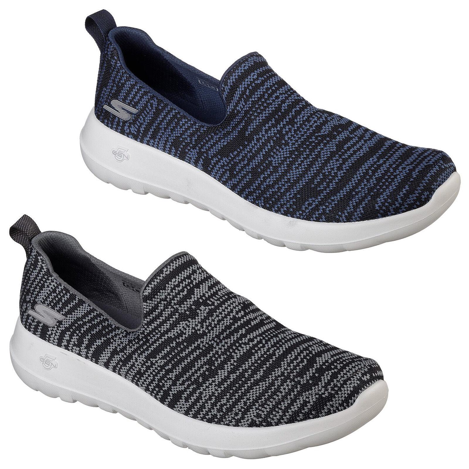 Skechers Go Walk Max Infinite Trainers Memory Foam Slip On Goga Run Mens shoes