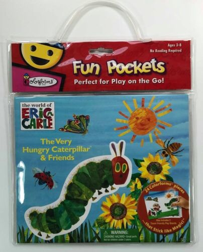 Fun Pockets Hungry Caterpillar & Friends Colorforms Play on the Go Set
