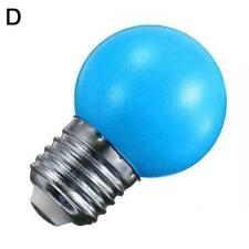 Colorful Led Bulb E27 0.5W Energy Saving Lamp Light Festival Decorati Light S5N5
