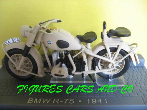 MOTO CLASSIQUE 1//24 BMW R 75 1941  MOTORCYCLE  MOTORRAD