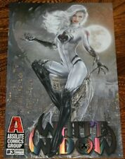 """WHITE WIDOW #3 - NATALI SANDERS EXCLUSIVE - """"MOONLIGHT"""" TRADE- FOIL TYNDALL 9.8"""