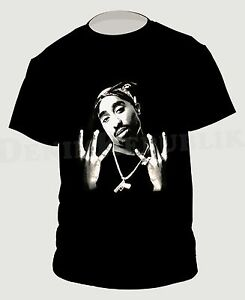 293c94dc 2PAC WEST SIDE Men's Black T-Shirt Machiaveli New Hip Hop Tee Tupac ...