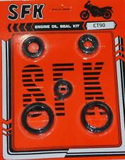Honda C90 C201 CL90 CD90 CT90 S90 SL90 ST90 Oil Seal Kit New 4pcs