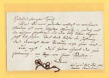 um 1819 ECHTHAAR Gedenk für J. F. Ferdinand Wappenhensch DÖBELN