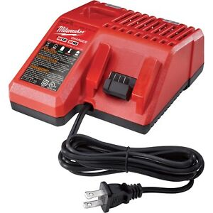 Milwaukee-48-59-1812-M18-and-M12-Battery-Charger-Dual-Voltage-Brand-New