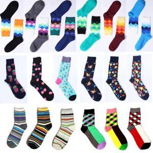 8a7304b80 Hot Casual Cotton Socks Design Multi-Color Fashion Dress Men Women ...
