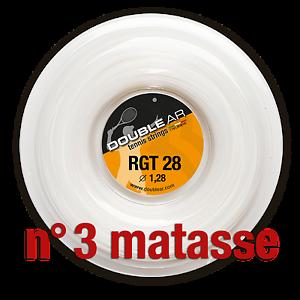 DOUBLE AR RGT 28 - Corde Tennis 3 X 200mt l'una - Tennis strings 3 X 200meters