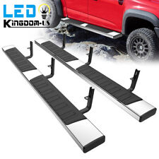 For 15 21 Chevy Coloradocanyon Crew Cab 6 Running Board Nerf Bar Side Step Ss