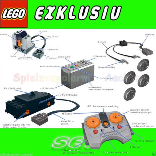 Lego 10254 chemin de fer IR moteur DEL Power Set 88000 8884 8870 8879 88002 10233