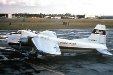 BUA BRITISH UNITED BRISTOL SUPERFREIGHTER BUNDLE 1 - 4 Prints for price of 2