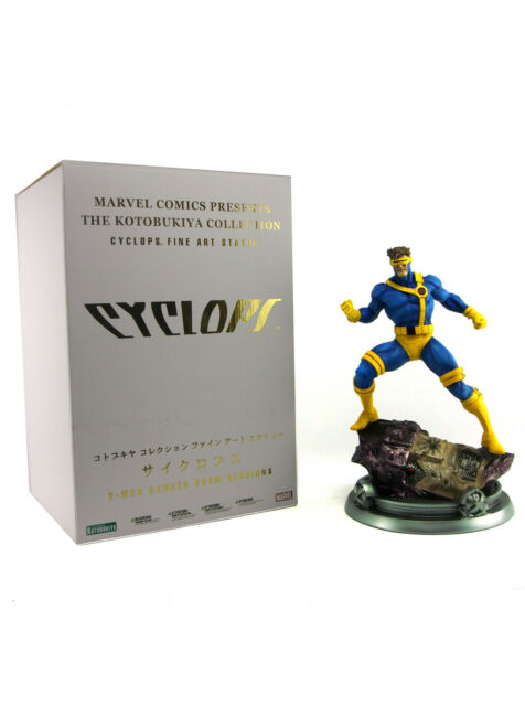 Kotobukiya Cyclops Fine Art Statue Artist Proof Danger Room Sessions X-Men New