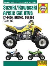 Haynes Manual 2910 Suzuki/Kawasaki/Arctic Cat ATV LTZ400/KXF400/DVX400 (03-09)