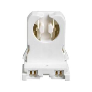 LED-Light-Bulb-Accessory-Socket-Universal-Non-Shunted-Bi-Pin-T8-Tube-20-Pack-New